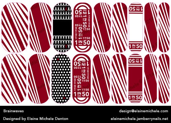 Elaine Denton Brainwaves Nail Design