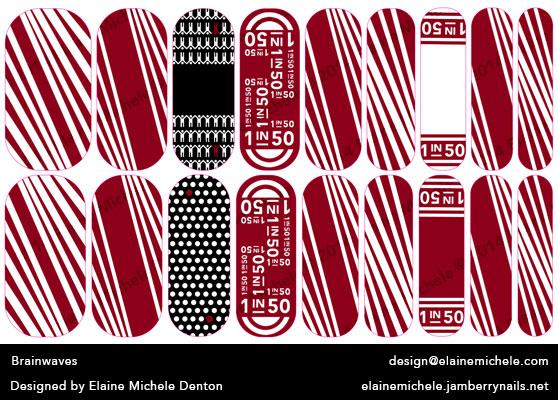 Elaine Denton Brainwaves Nail Design
